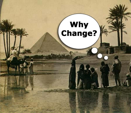 Why Change Pyramid