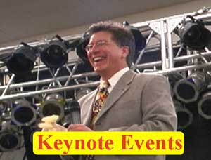 Keynote motivational humorist Randy Morgan