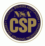 Certified Speaking Professional